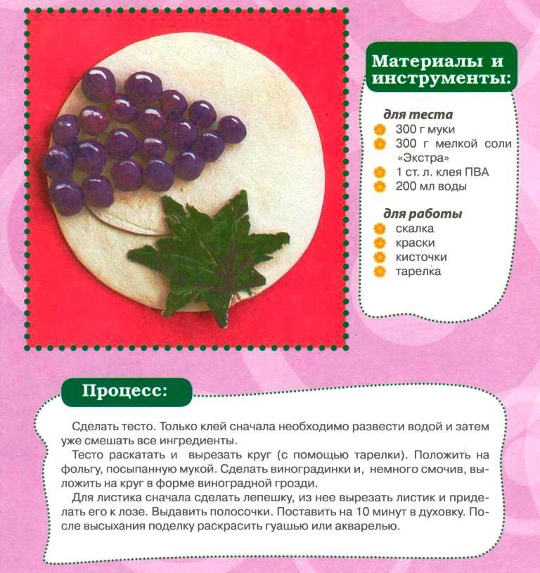 Поделка из винограда 10