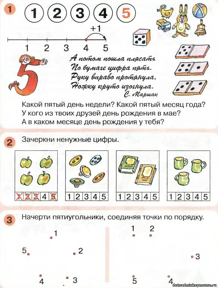 Цифра И Число 5 Знакомство