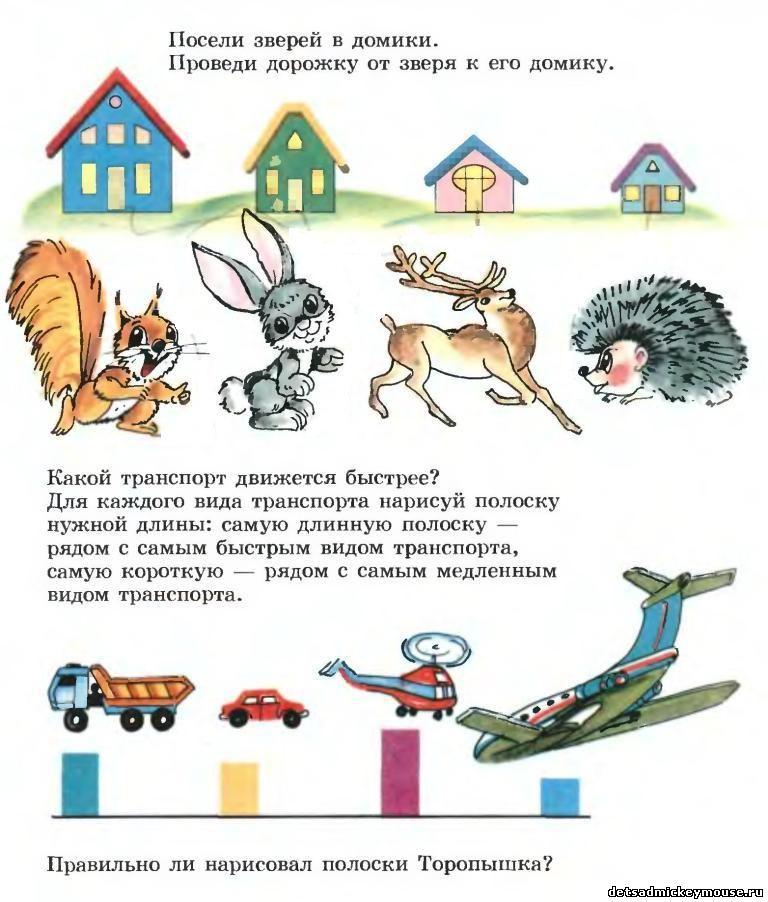 Психологические тесты в картинках детей 6 лет 12