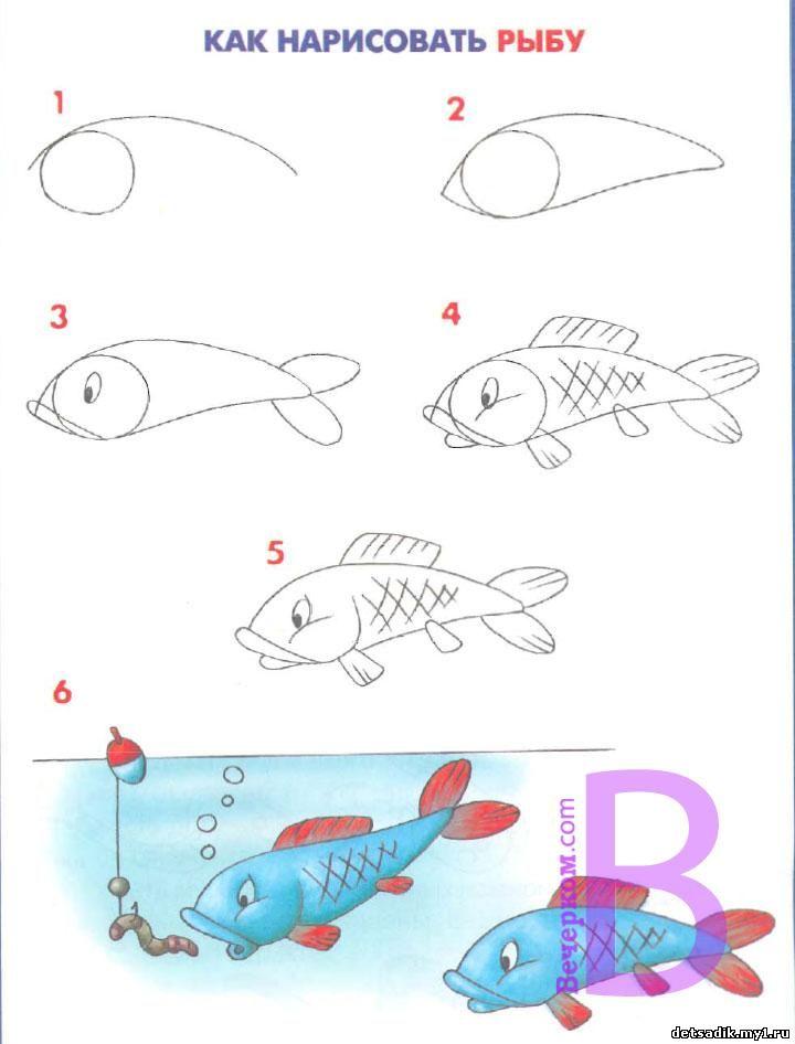 знакомство с карандашом и бумагой в детском саду
